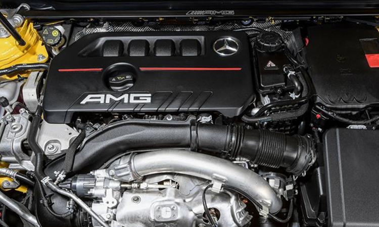 เครื่องยนต์ Mercedes-AMG CLA 35 4MATIC