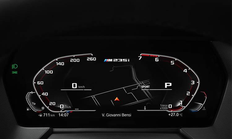 เรือนไมล์ BMW 218i Gran Coupe'