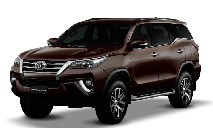 ราคา ตารางผ่อนดาวน์ Toyota Fortuner ปี 2020-2021 20