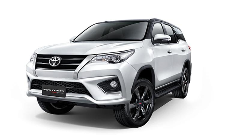 ราคา ตารางผ่อนดาวน์ Toyota Fortuner ปี 2020-2021 26