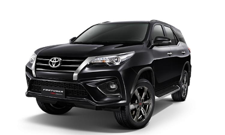 ราคา ตารางผ่อนดาวน์ Toyota Fortuner ปี 2020-2021 27