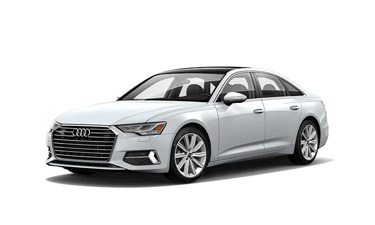 Audi A6 Sedan 2020_Glacier White Metallic