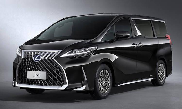 ราคา ตารางผ่อนดาวน์ Lexus LM 300h ปี 2020