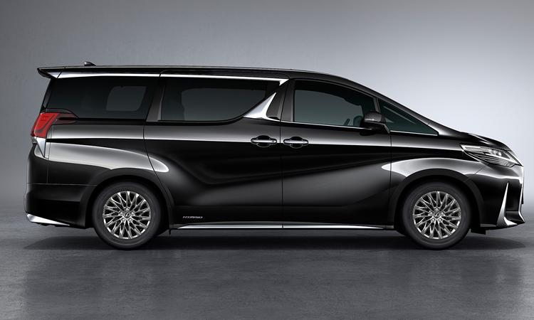 สีตัวถัง Lexus LM 300h สีดำ
