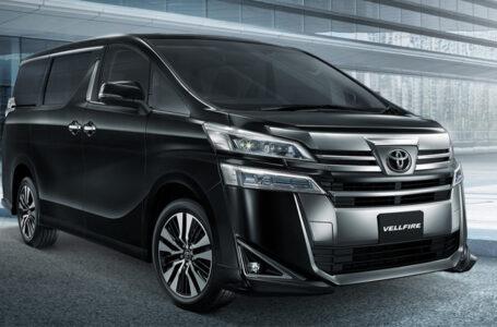 ราคา ตารางผ่อนดาวน์ Toyota Vellfire 2020