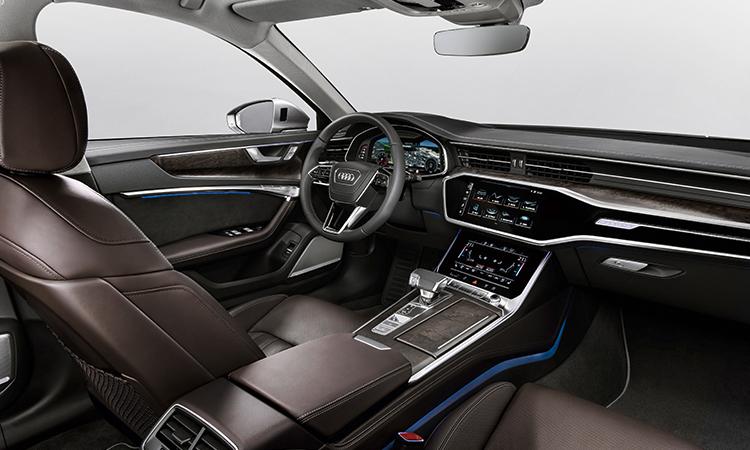 ดีไซน์ด้านใน Audi A6 Sedan
