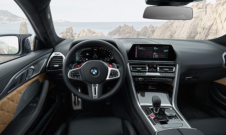 ภายใน BMW M8 Competition Coupe'