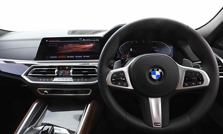 พวงมาลัย BMW X6 xDrive30d M Sport