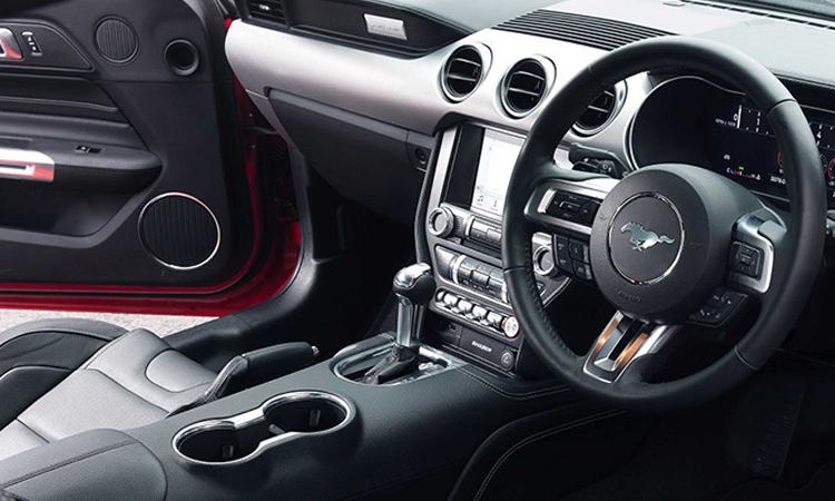 ภายใน Ford Mustang