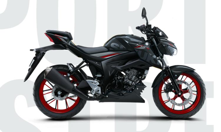 NEW SUZUKI GSX-S150 สีดำ
