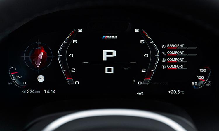 รือนไมล์ BMW M8 Competition Coupe'