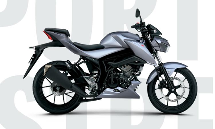 NEW SUZUKI GSX-S150 สีเทา