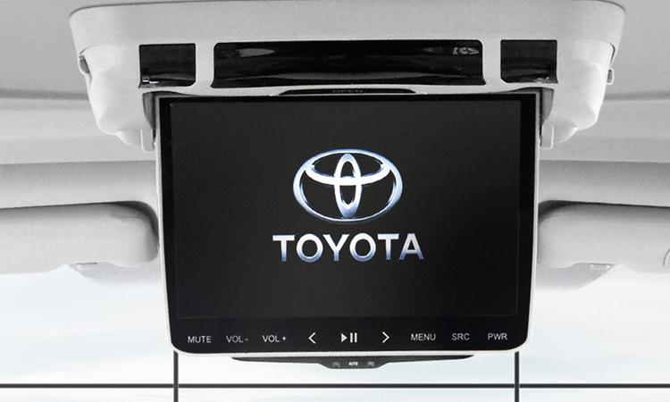 ทีวีห้องผู้โดยสาร Toyota Vellfire