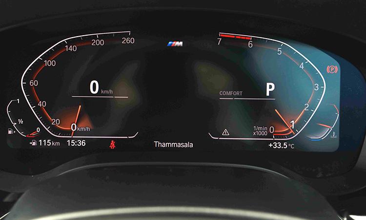 รือนไมล์ BMW 630i GT M Sport