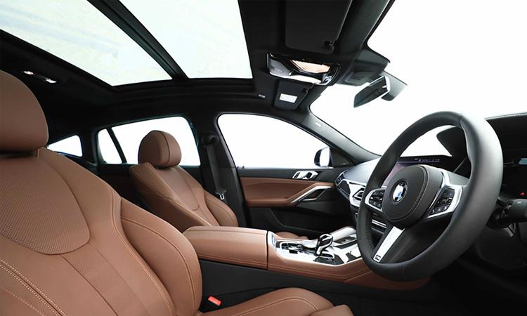 ดีไซน์ภายใน BMW X6 xDrive30d M Sport