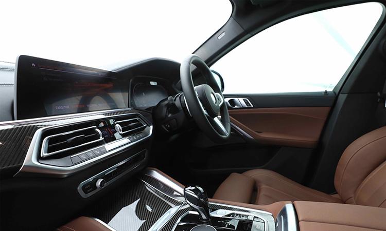 คอนโซนกลาง BMW X6 xDrive30d M Sport