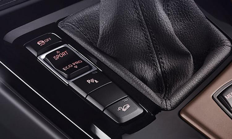 ปุ่มควบคุม BMW X1