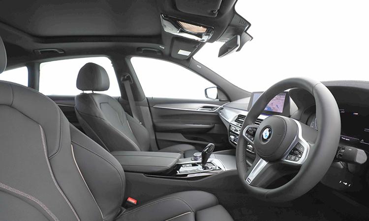 เบาะคู่หน้า BMW 630i GT M Sport