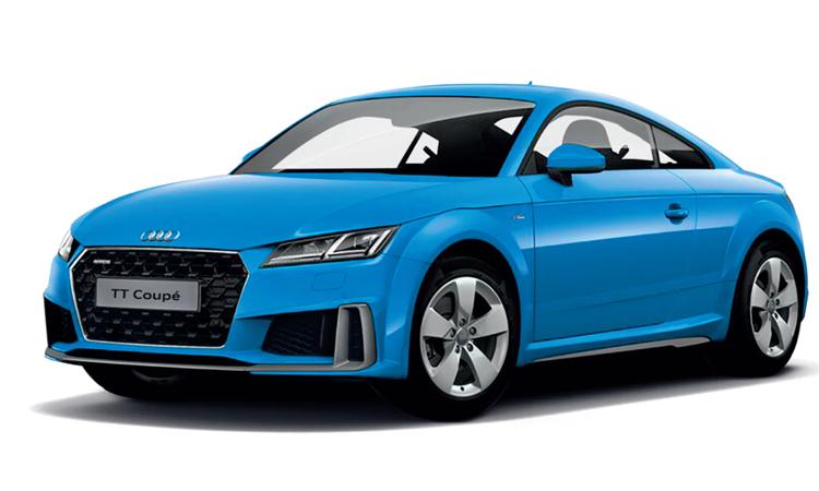 Audi TT Coupe' 45 TFSI quattro S-Line สีฟ้า Turbo Blue Solid (NEW)