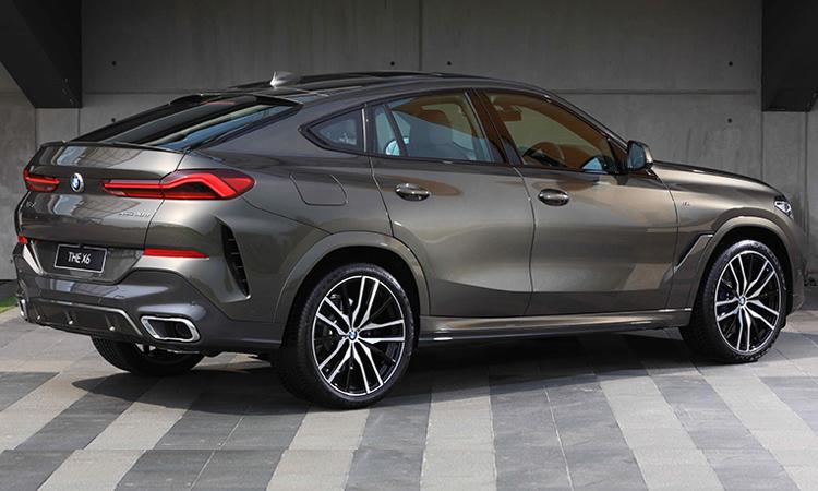 ระบบความปลอดภัย BMW X6 xDrive30d M Sport