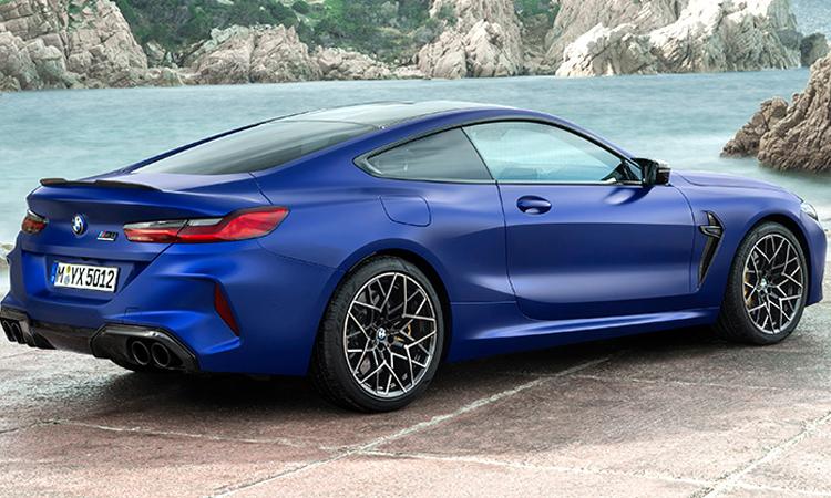 ระบบความปลอดภัย BMW M8 Competition Coupe'
