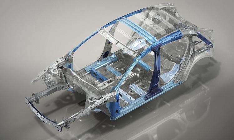 โครงสร้าง และความปลอดภัย Mazda CX-30