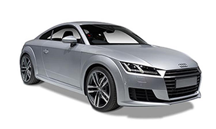 Audi TT Coupe' 45 TFSI quattro S-Line สีเทา Nano Grey Metallic