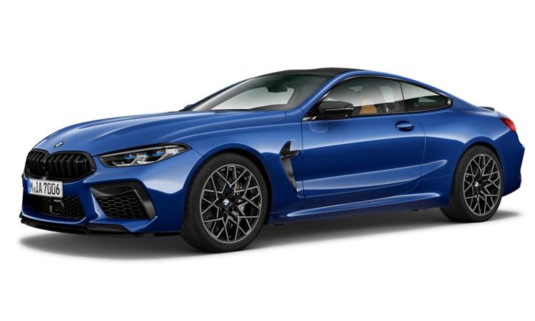 BMW M8 Competition Coupe' สี Blue Metallic