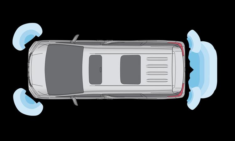 เซ็นเซอร์ Toyota Vellfire