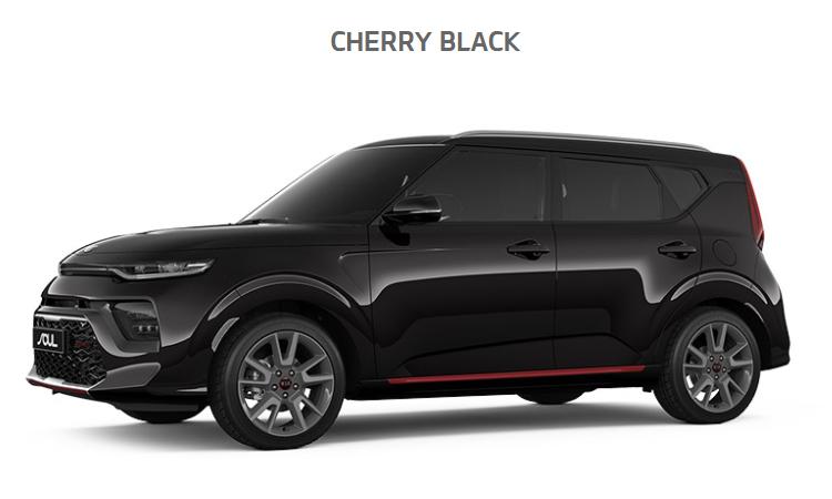 Kia Soul EV2020 สีดำ Cherry Black