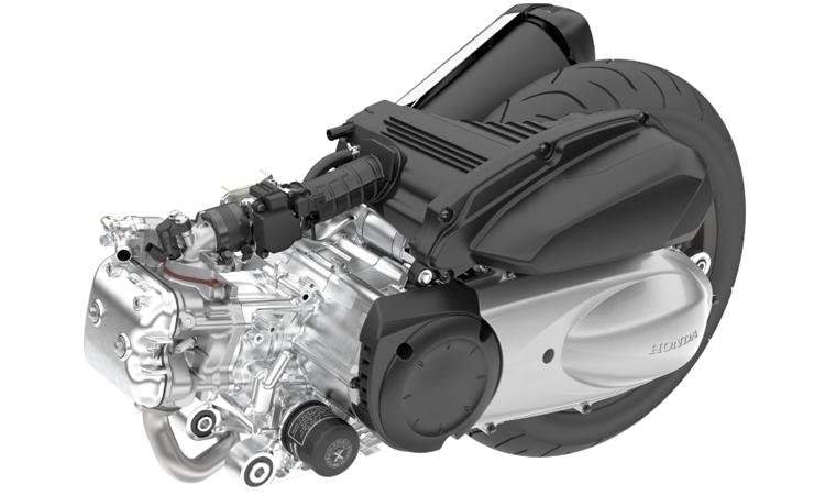 เครื่องยนต์ Honda Forza 300