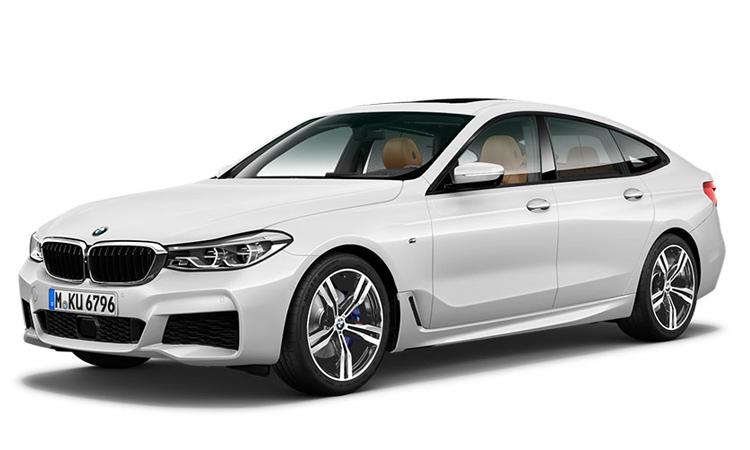 BMW 630i GT M Sport สีขาว Mineral White