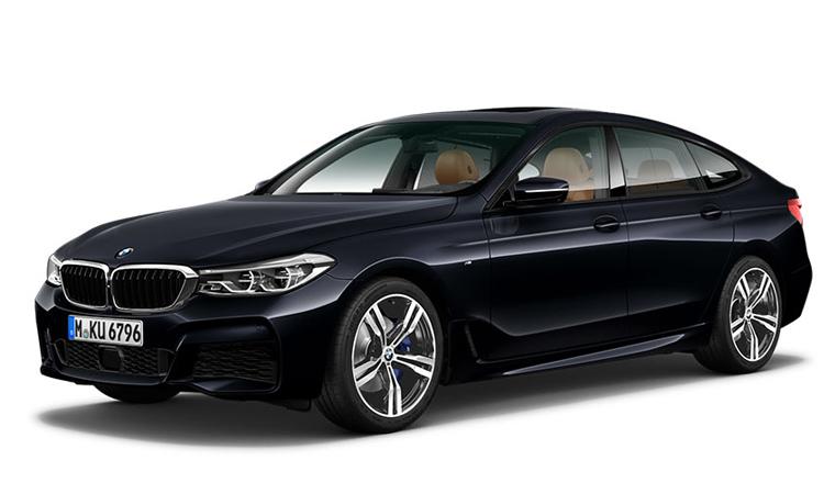 BMW 630i GT M Sport สีดำ Carbon Black Metallic