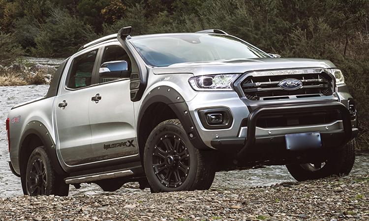 ดีไซน์ภายนอก Ford Ranger