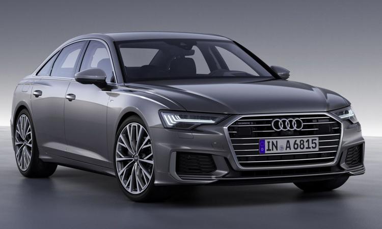 ดีไซน์ Audi A6 Sedan
