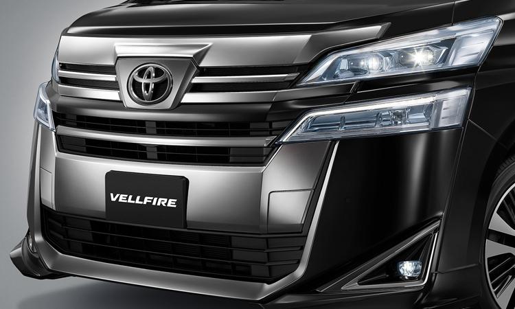 กระจังหน้า Toyota Vellfire