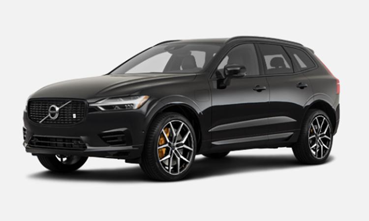 Volvo XC60 T8 AWD Polestar Engineered สีดำ Onyx Black Metallic