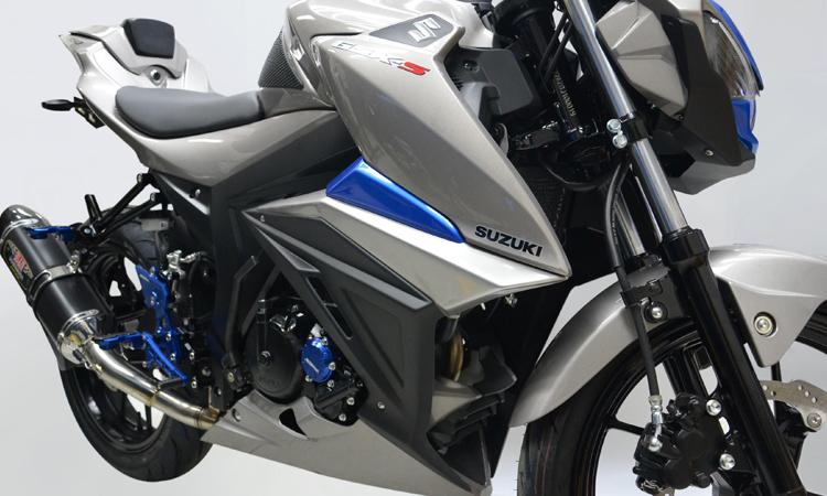 ีดีไซน์ตัวถัง Suzuki GSX S150