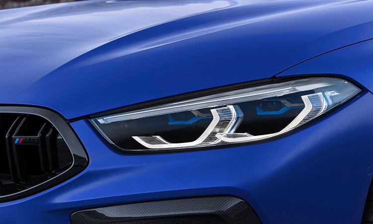 ไฟหน้า BMW M8 Competition Coupe'
