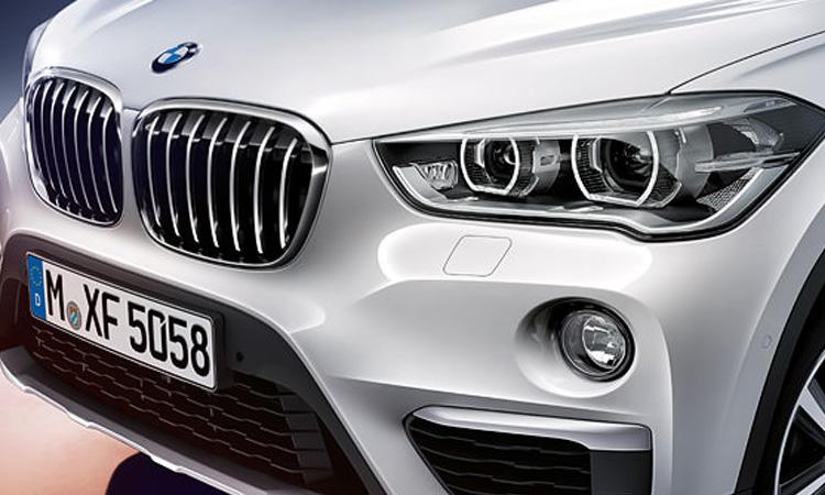 ดีไซน์ด้านหน้า BMW X1