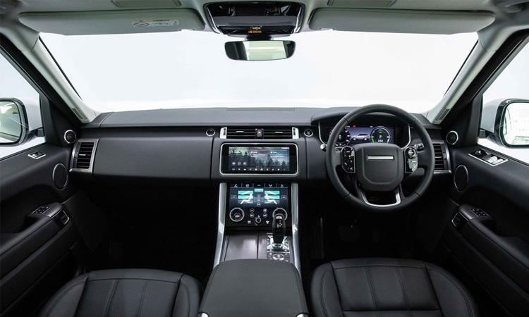ภายใน Range Rover Sport HSE Plus
