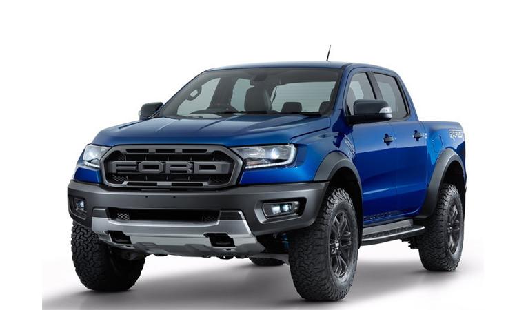 Ford Ranger สี Lightning Blue