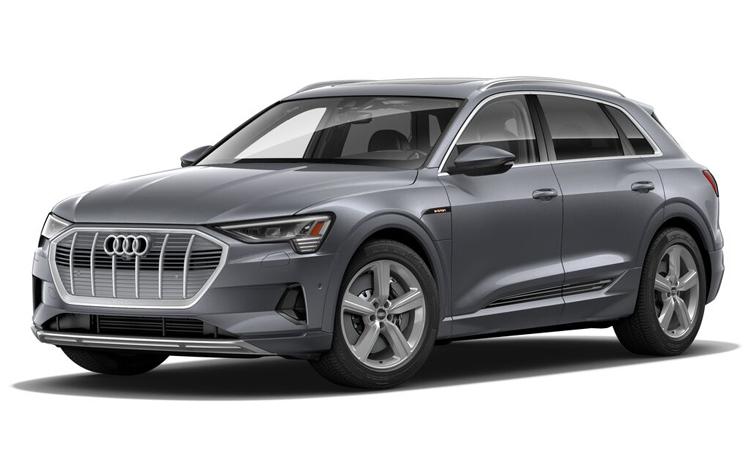 Audi e-tron สีเทา Typhoon Grey Metallic