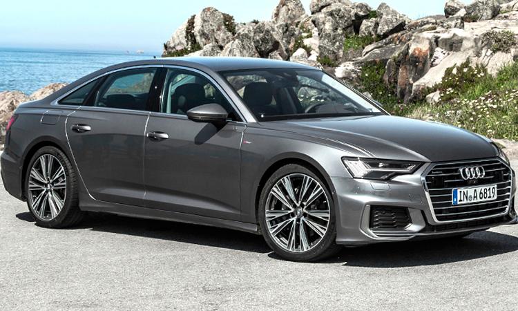 Audi A6 Sedan การออกแบบ