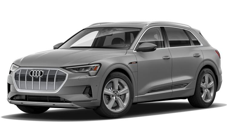 Audi e-tron สีทอง Siam Beige Metallic