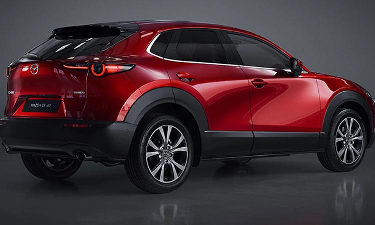 ดีไซน์อบคัน Mazda CX-30
