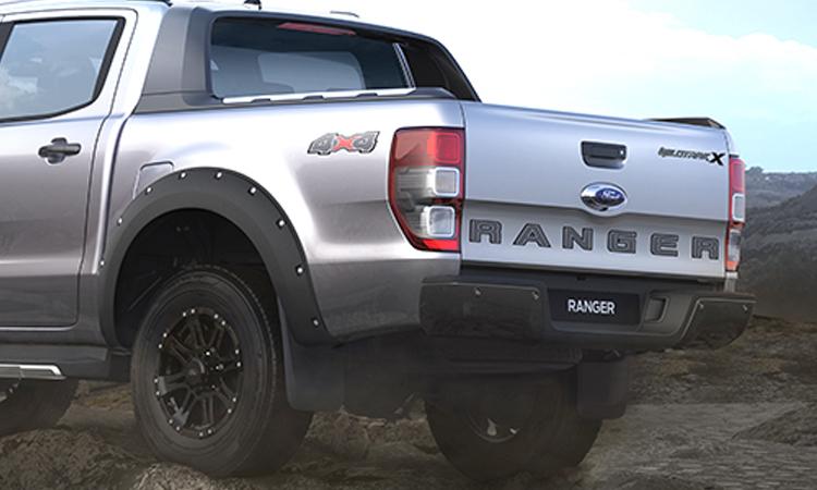 ดีไซน์ด้านหลัง Ford Ranger