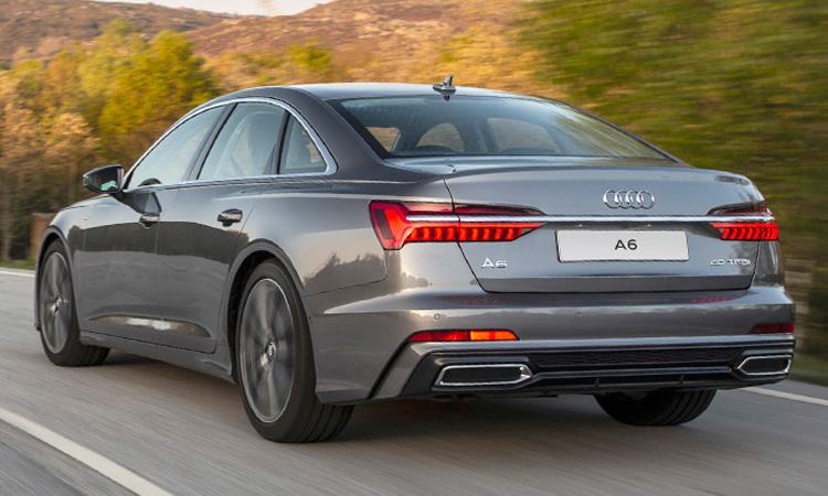 ดีไซน์ไฟท้าย Audi A6 Sedan