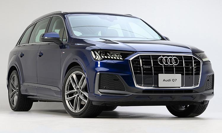 ราคา ตารางผ่อนดาวน์ Audi Q7 Minorchange 45 TDI quattro 2020