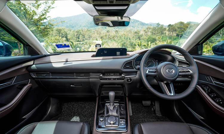 ภายใน Mazda CX-30